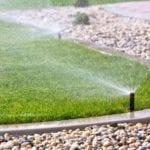 automatische Rasen- und Gartensprinkler